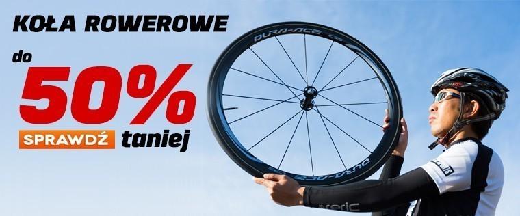 Koła rowerowe do 50% taniej