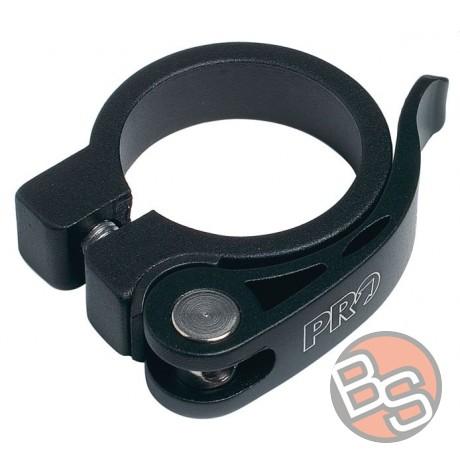 Zacisk sztycy PRO obejma podsiodłowa 31.8mm aluminiowa czarna