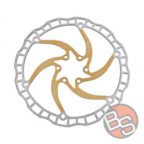 Tarcza Quaxar Lynx- 6-śrub złota