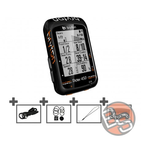 Licznik GPS Bryton Rider 450 H