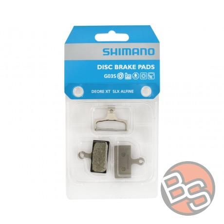 Klocki hamulcowe Shimano XTR XT SLX Deore G03S żywiczne