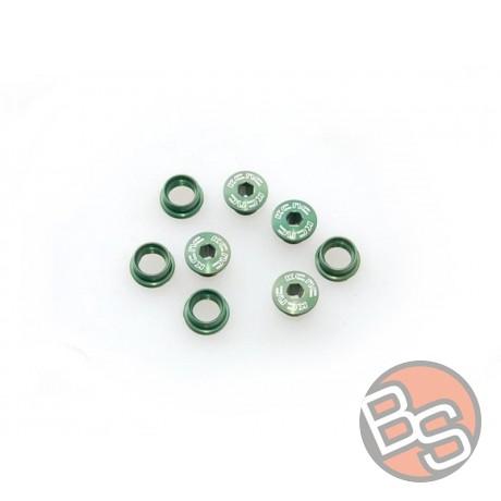 Śruby do zębatek KCNC zielone 10/8mm WYPRZEDAŻ