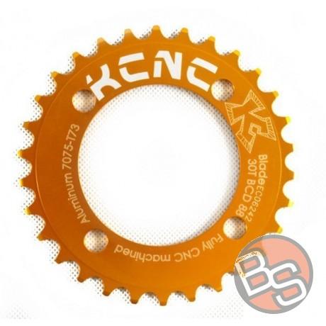 Zębatka KCNC Blade MTB 30T 88BCD złota 29g