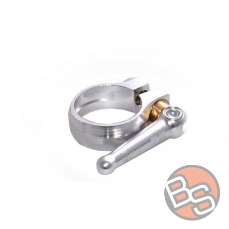Zacisk sztycy KCNC mtb QR clamp Z6 sc12 34,9mm 30gr srebrny