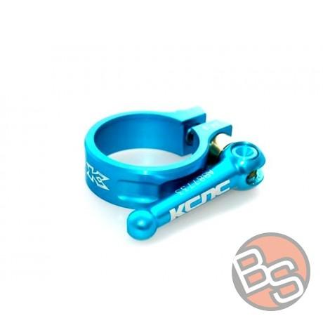 Zacisk sztycy KCNC mtb clamp sc10 39mm 23gr niebieski