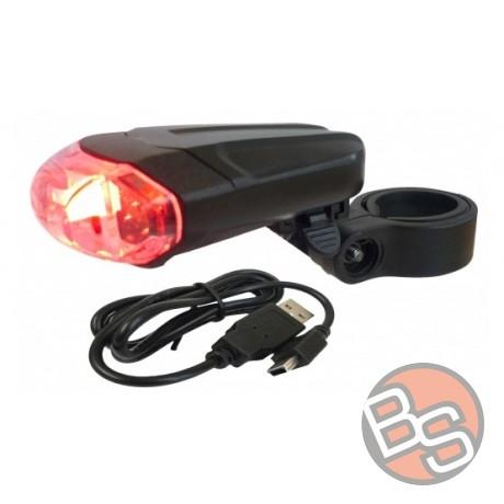 Lampka tylna Fuxon Scooter BL USB WYPRZEDAŻ - 76%
