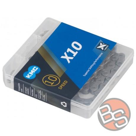 Łańcuch KMC X10-93 X10.93 X10 114 ogniw + spinka 10 speed