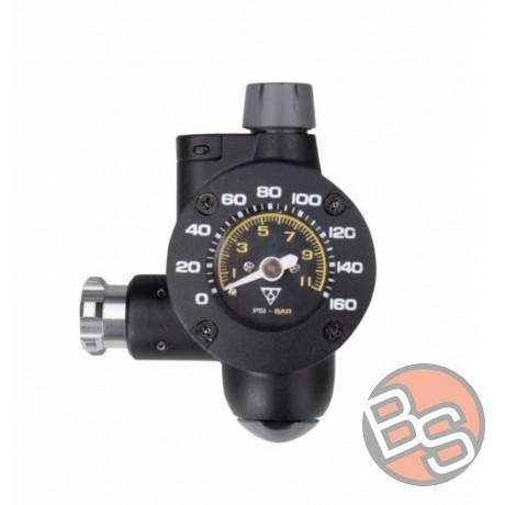 Pompka Topeak z manometrem analogowym Air Booster CO2