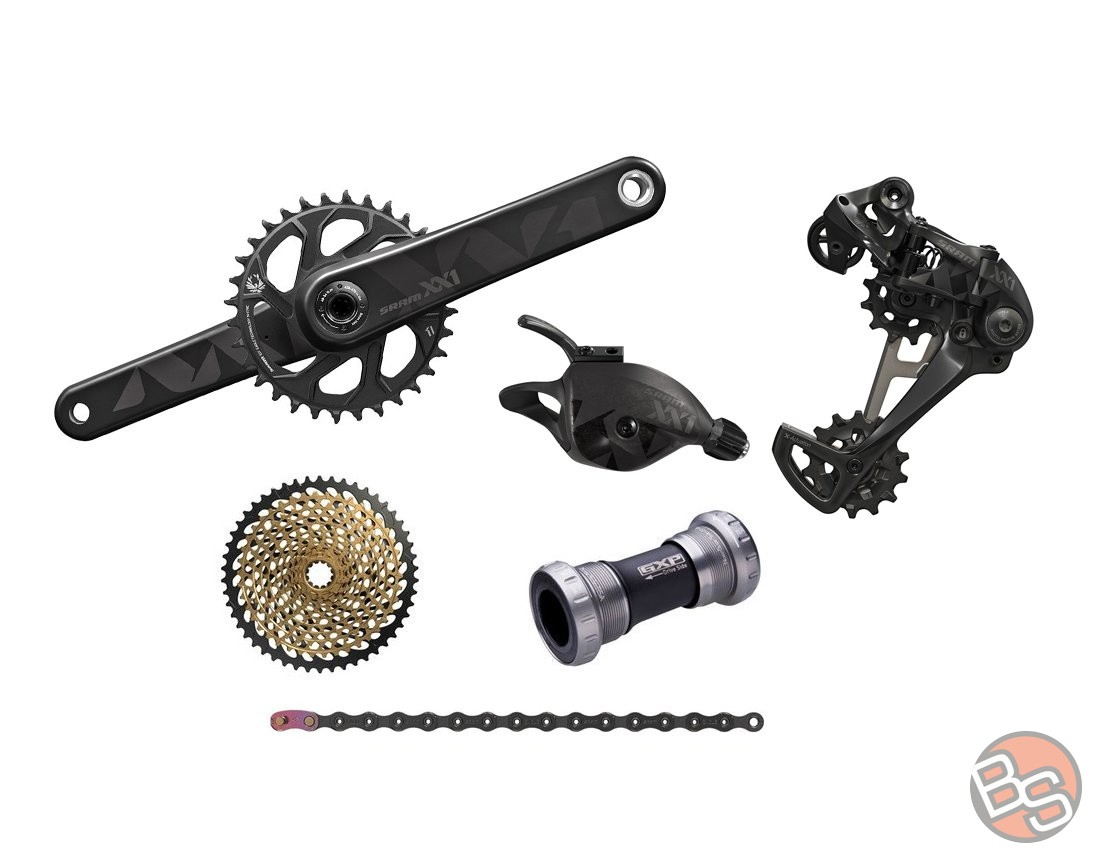 92924a128386df Grupa osprzętu SRAM XX1 Eagle 1x12 speed 175mm GXP - Bikestacja.pl