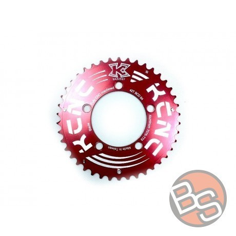 Chainring KCNC Blade MTB 42t Red 94mm BCD