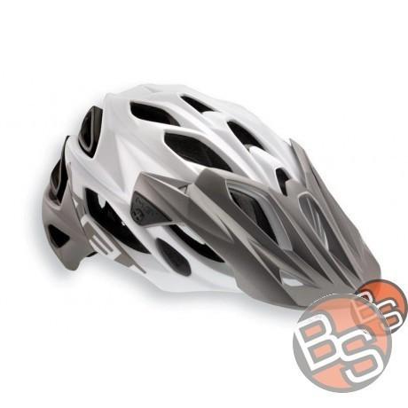 Helmet MET Parabellum HES 2015 white-gray mat