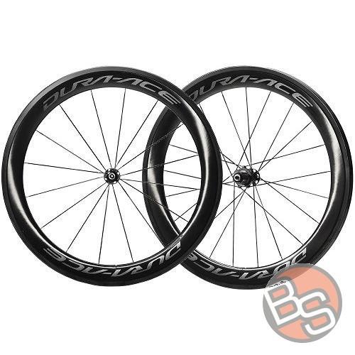 5882a922d01 Wheelset Shimano Dura-Ace WH-R9100-C60-TU Carbon - Bikestacja.pl